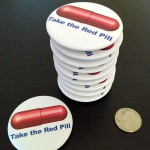 Red Pill Magnetic Graphic Bottle Opener